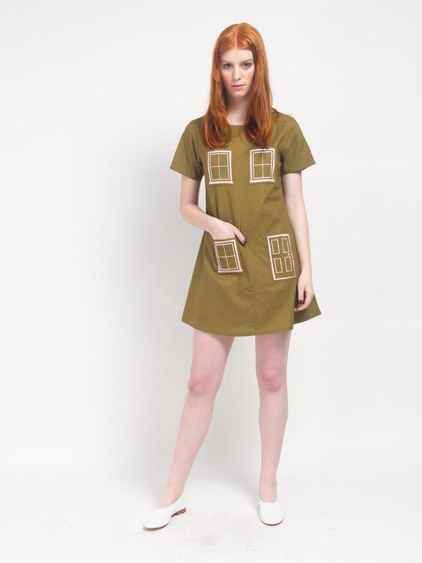 Dark coral House Dress