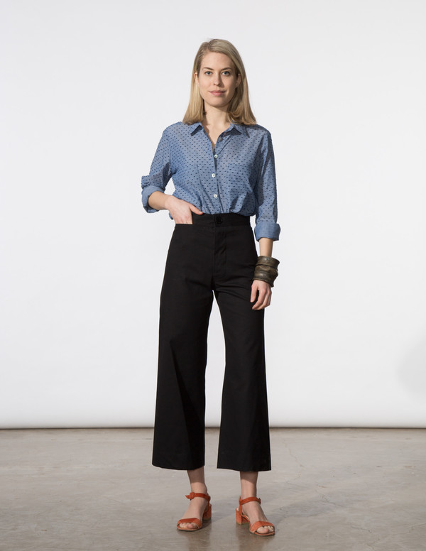 SBJ Austin Angela Pant in Black