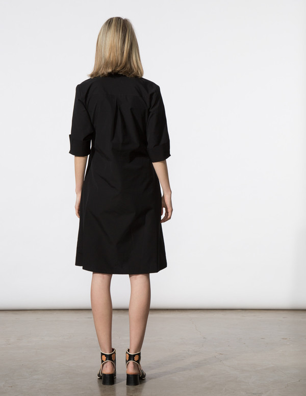 SBJ Austin Ellen Dress in Black