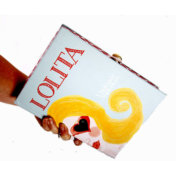 Chick Lit Designs Lolita Book Clutch