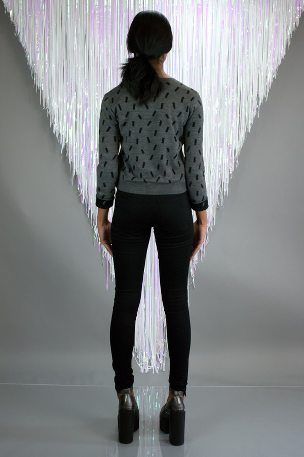 Mary Meyer Confetti Cropped Sweater