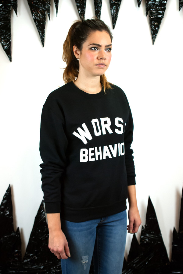 Private Party Worst Behavior Sweatshirt