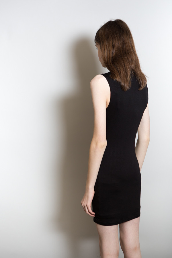 BLQ Basiq High Neck Dress / Black