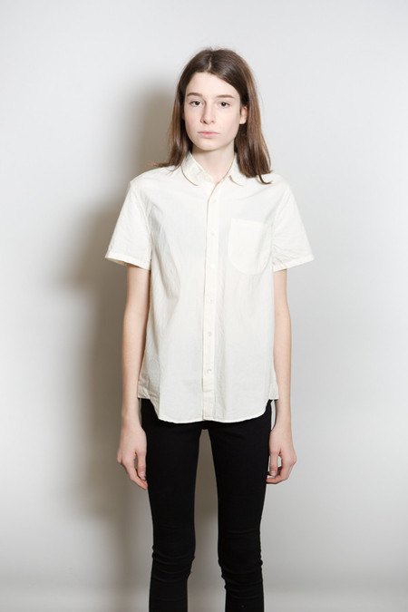 Olderbrother Button Down / White