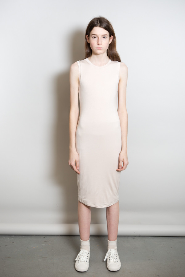 BLQ Basiq Sleeveless Jersey Dress / Nude
