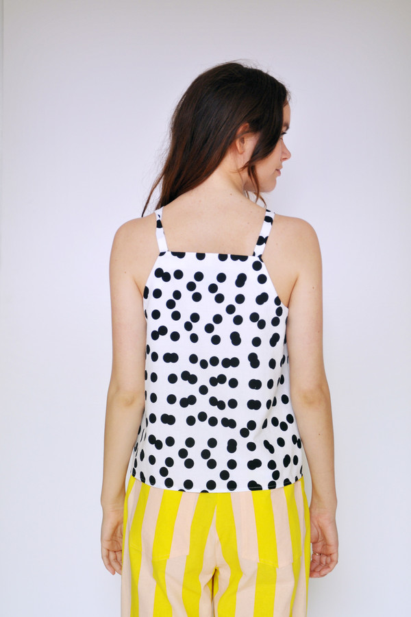 Dusen Dusen Double Dot High Neck Tank