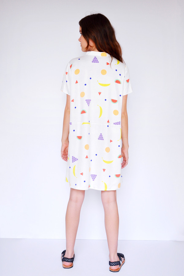 Fruit Oversize Tee Dress