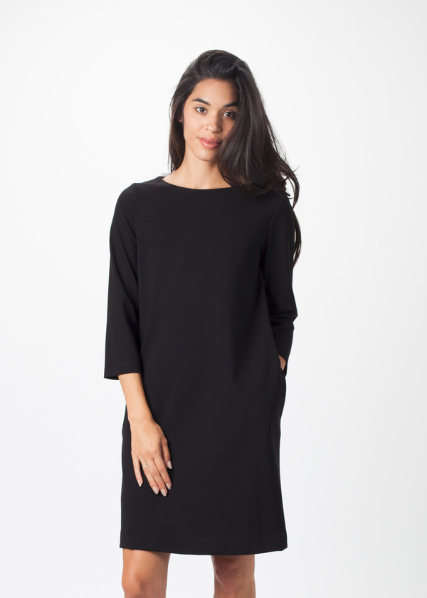 Hache 3/4 Sleeve Dress