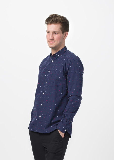 Men's You Must Create Dot Button Down Shirt