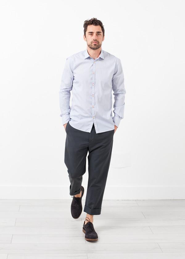 Lardini Flat Front Cuffed Trouser