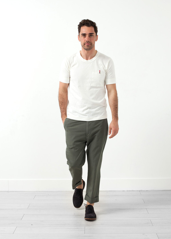 Men's Nigel Cabourn Interlock Jersey Tee