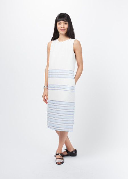 Sayaka Davis Striped Sleeveless Dress