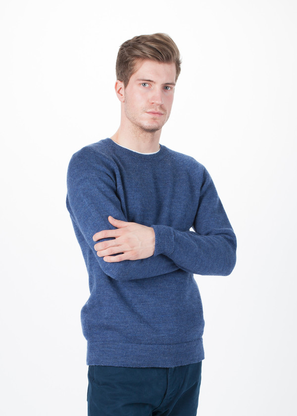 Men's Nigel Cabourn Tubular Crew Sweater