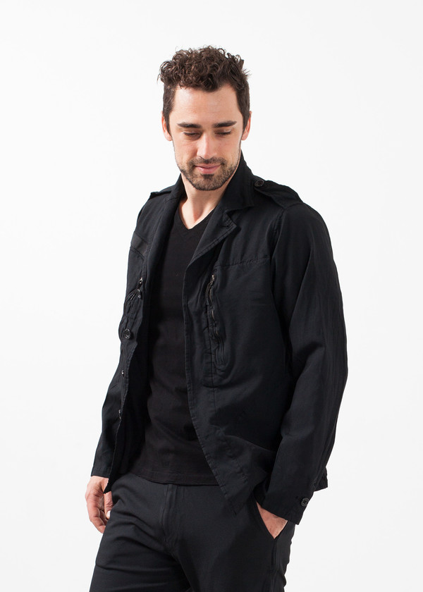 Men's Sage de Cret Zipper Jacket