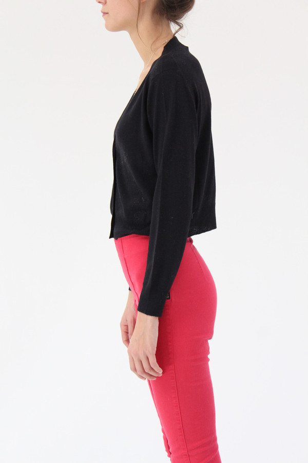 Lina Rennell Classic Knit Cardigan