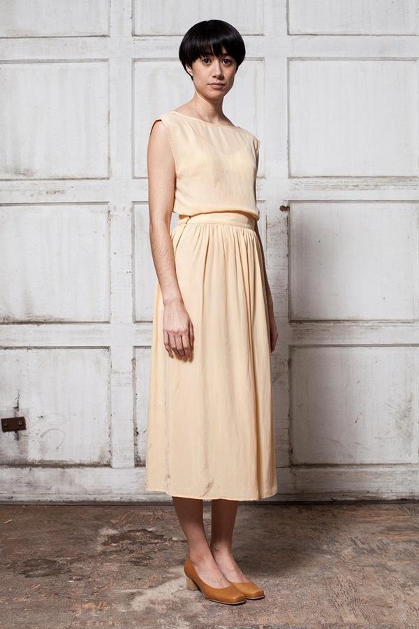 Jesse Kamm Ranch Skirt - bellini