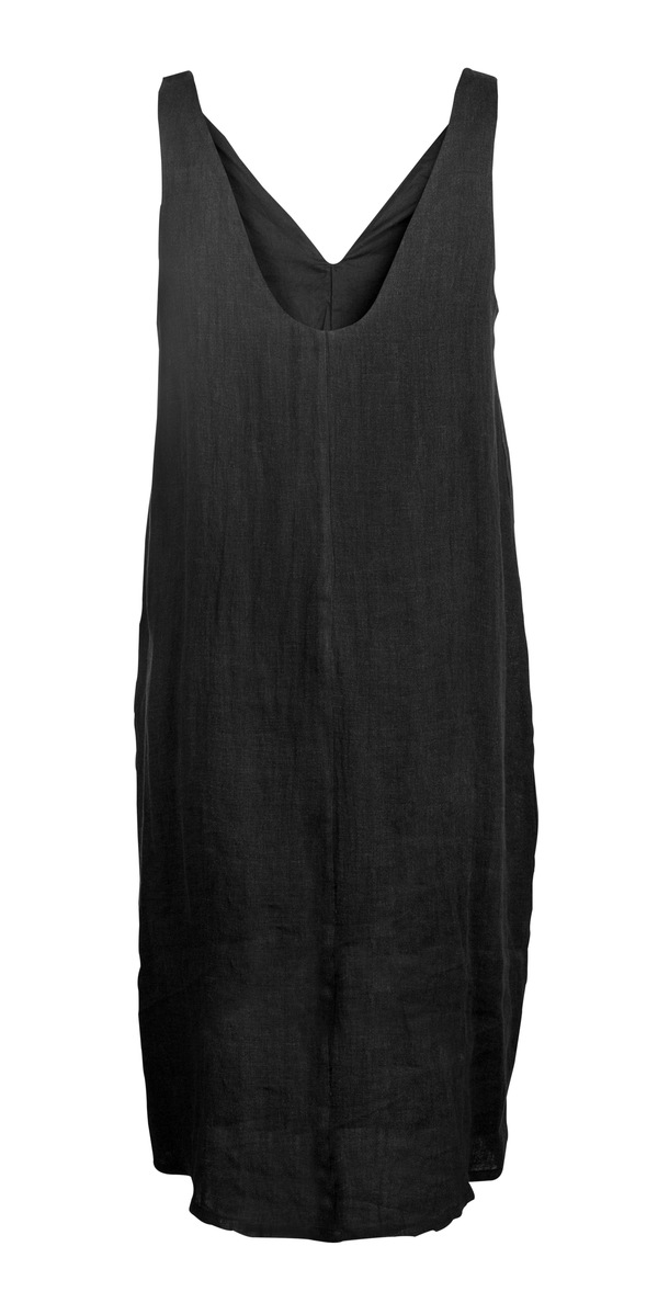 Devlyn van Loon Tank Split Dress - Black