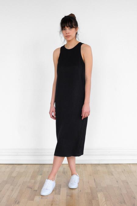 Waltz Sleeveless Racer Dress in Black