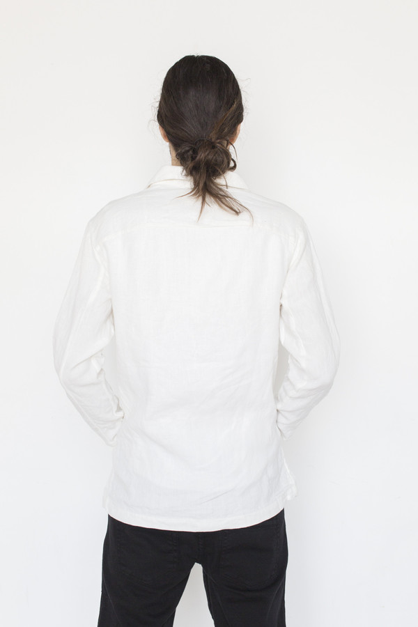 ZED Linen Long Catch All Jacket