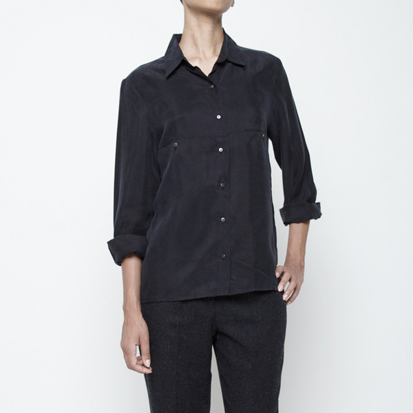 7115 by Szeki Pockets Button Down