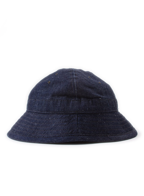 The Hill-Side Daisy Mae Hat Selvedge Lightweight Weft-Slub Denim
