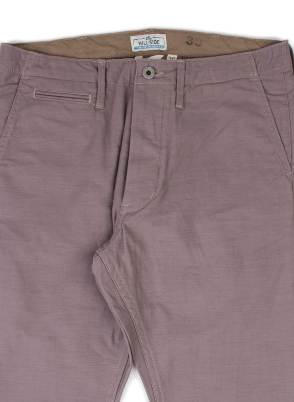 The Hill-Side Mil Chinos Mallow Grey
