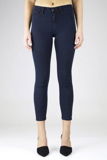 Res Denim Kitty Skinny Crop | Smokin