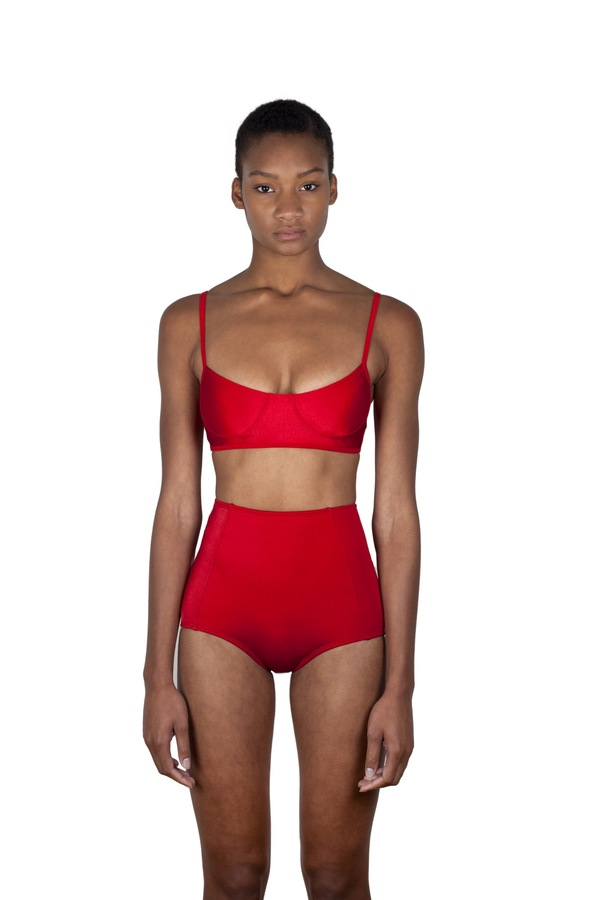 Minnow Bathers Forest Top - Red