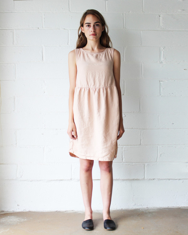 Esby QUINN BABYDOLL DRESS - BLUSH