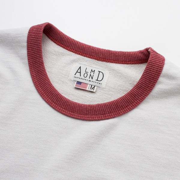 Men's Almond Drew Crew Neck Sweatshirt