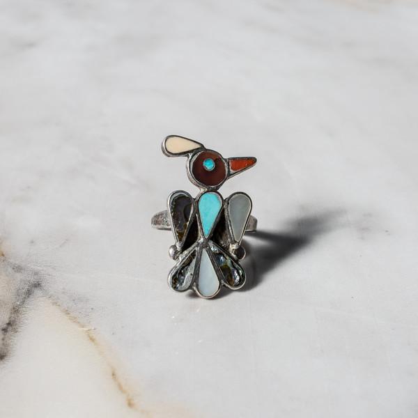 Turquoise Bird Ring