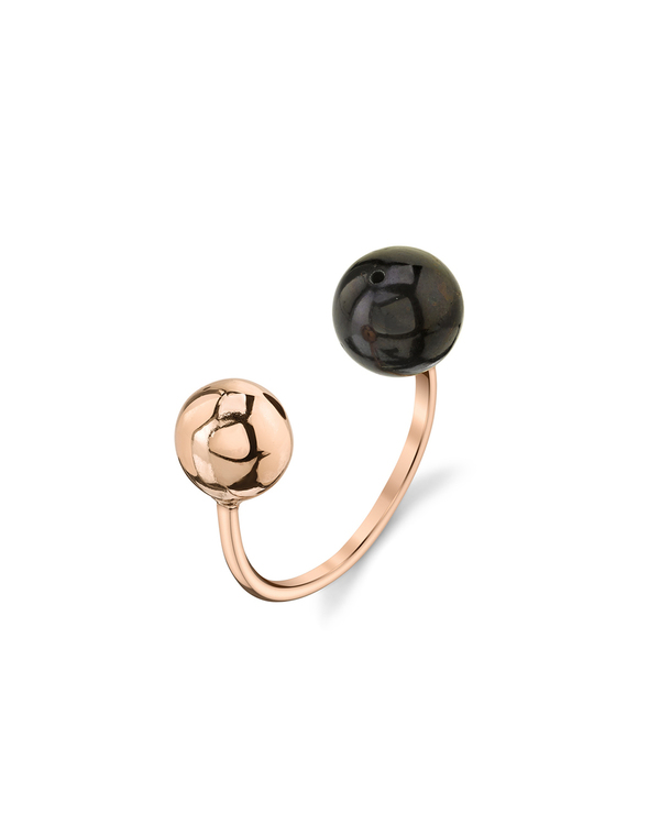 Gabriela Artigas Orbit Ring in Rose Gold