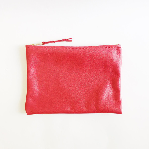 ARA Handbags - Red Clutch No. 1