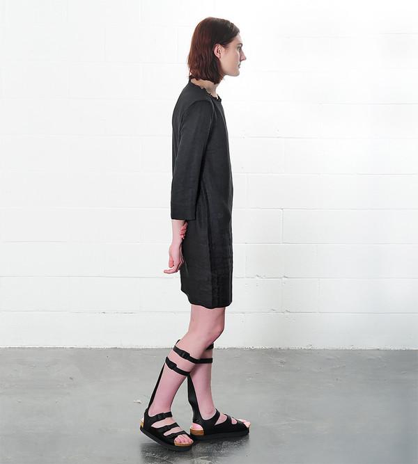 Raquel Allegra Linen Shift Dress