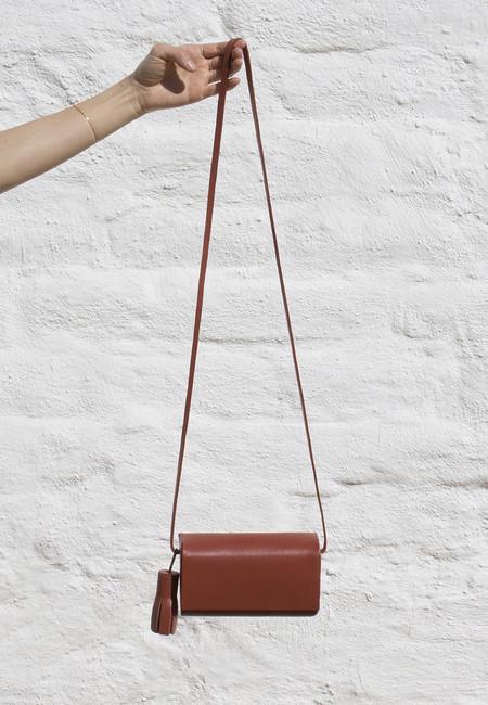 Building Block Petite Bag in Brick