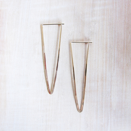 Satomi Studio Large Peak Earrings