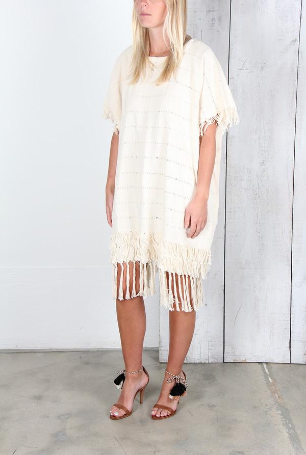 APIECE APART ARTISAN WOVEN DRESS