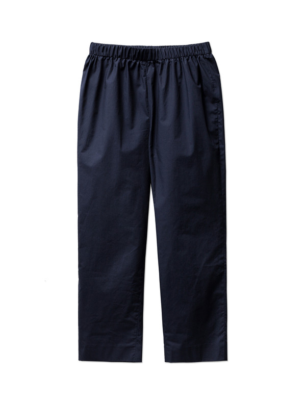 Organic by John Patrick Pull-on Pants Navy