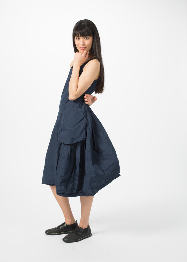 Rundholz BL Two Pocket Dress - Blue