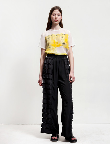 Christopher Raeburn Remade Airbrake Trousers Black