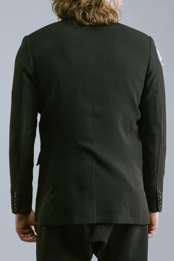 Men's Any Old Iron Crystal Skull Jacket