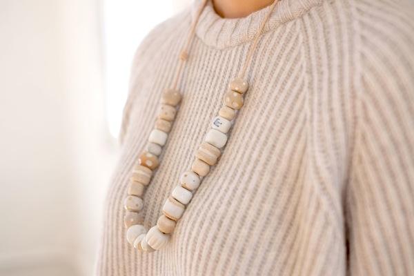Jujumade cluster necklace