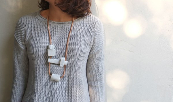Jujumade puzzle necklace
