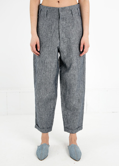 Study NY Grey Stripe Hollywood Pant