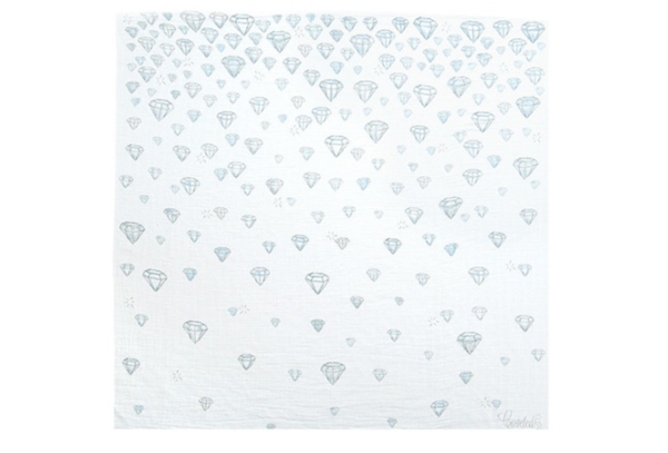 Coveted Things Diamonds Swaddle Blanket