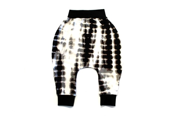 MeAndReekie Tie Dye Drop Crotch Pant