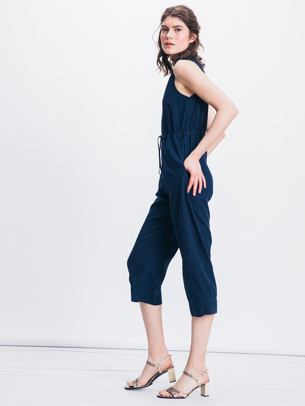Ali Golden SLIT BACK JUMPSUIT