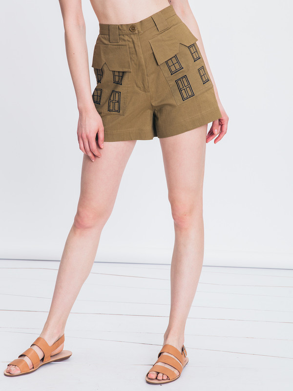SAMANTHA PLEET VILLAGE SHORT