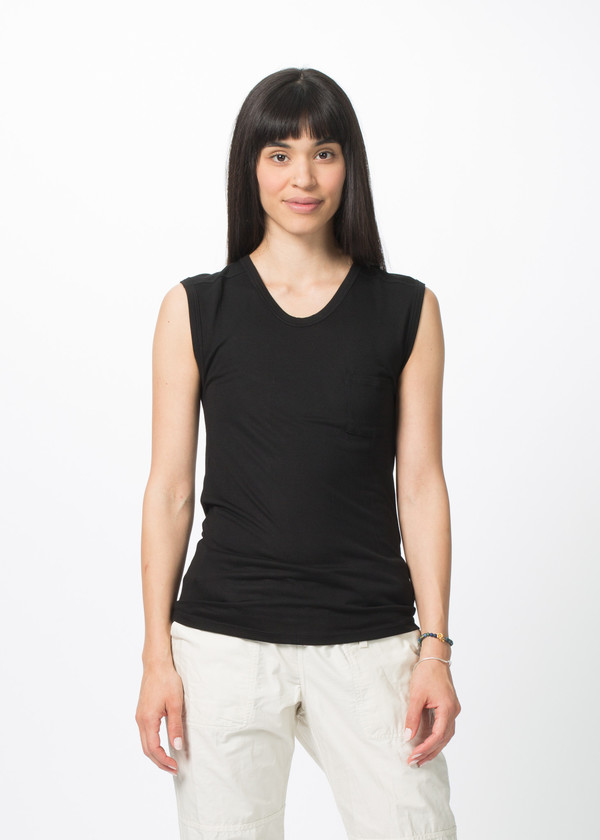Organic by John Patrick One Pocket Muscle Tee