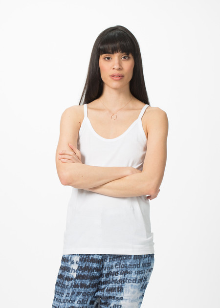 Organic by John Patrick Thin Strap Tank Top